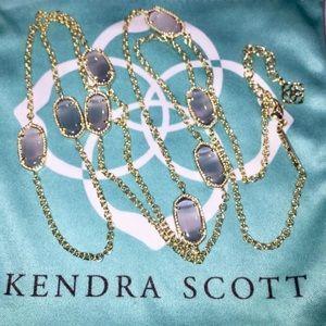Kendra Scott Kelsie Slate Cat's Eye in Gold